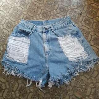 XL Highwaist shorts