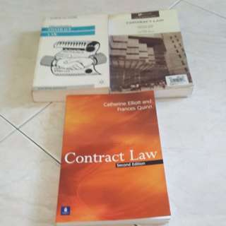 Contract law book