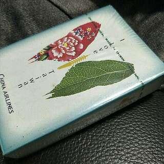 華航蝴蝶撲克牌