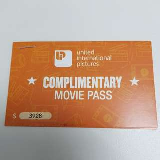 Pair of Pitch Perfect 3 Movie Voucher