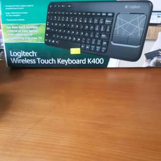 Logitech wireless touch keyboard K400 (Brand new with box)