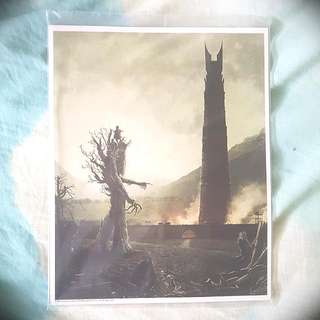 Lord Of The Rings Art Print Lootcrate Exclusive