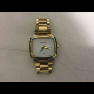 Nixon gold player watch