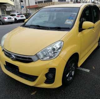 Perodua Myvi 1.5 SE (AT)(2012)