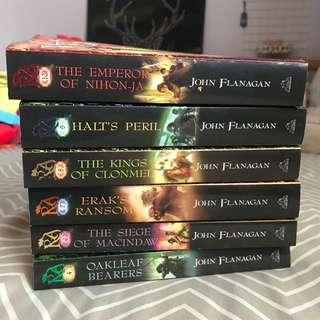 Ranger's apprentice John Flanagan book sale