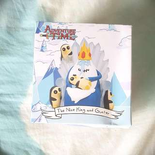 "Adventure Time ""Nice King"" And Gunter Figure Lootcrate Exclusive"