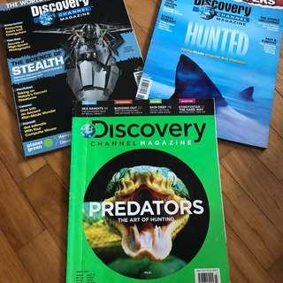 Discovery channel magazine sharks stealth predators