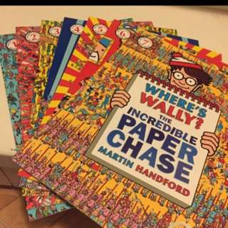 Where's Wally 1-7