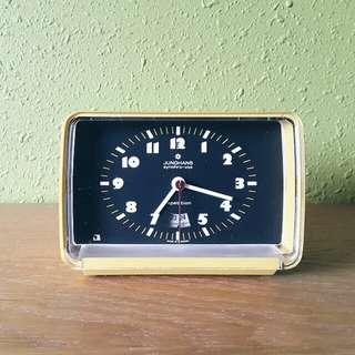 vintage 70s German JUNGHANS synchro vox alarm clock