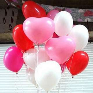 Year End heart shape Helium Balloons
