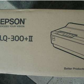 Epson LQ 300 + II dot matrix printer