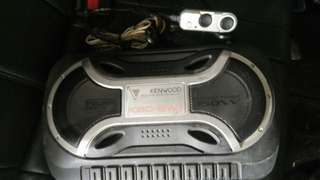 Kenwood underseat subwoofer