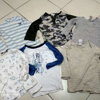 Baby boy baju ( bundle