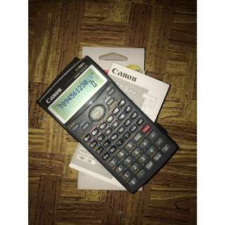 New Canon Scientific Calculator