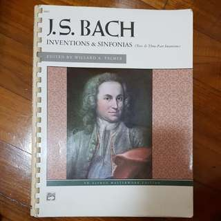 J.S. Bach - Inventions and Sinfonias