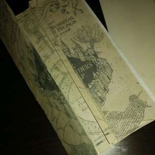 HARRY POTTER'S MARAUDER'S MAP