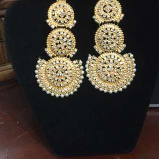 Indain long earrings