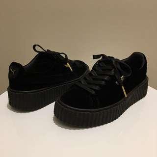 PUMA Fenty Black Velvet Creepers