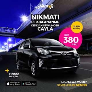 Promo Sewa Calya di Jakarta Hanya di Nemob.id