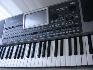 Korg pa900 with Steinway Piano Patches