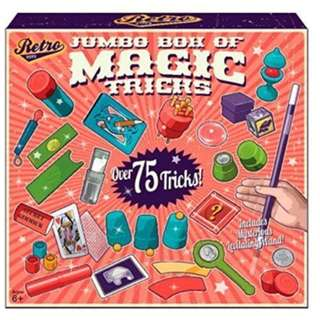 Jumbo Box Of Magic Tricks Kit (Over 75 Tricks)