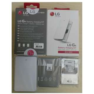 LG G4 Power Pack (BCK-4800) Battery 原封電池, 電池盒連座充套裝 for H815, H818, F500,H630, H635A