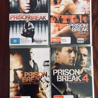 DVDs- TV series