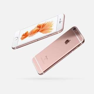 iPhone 6s Plus 玫瑰金 128gb