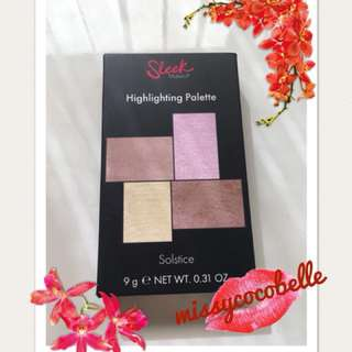 *Never used* Sleek MakeUP Highlighting Palette Solstice
