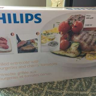 Brand new Philips Tischgrill