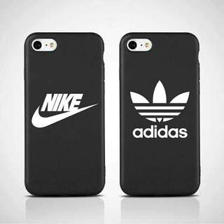 Nike/Adidas Matte Soft Case for iPhone 5/5s/SE(Adidas) & 6/6s (both designs)