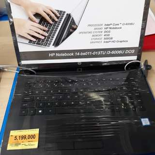 Kredit laptop Hp bs013TU