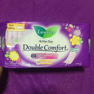DIVINE DECEMBER 2017 SALE- LAURIER COMFORT NON WING SANITARY PAD PACK