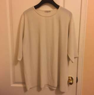 OAK AND FORT ONE SIZE T- SHIRT DRESS