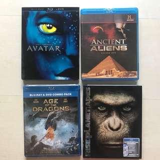 New Blu Ray Movies