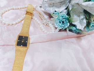 His & Hers Gold Watch