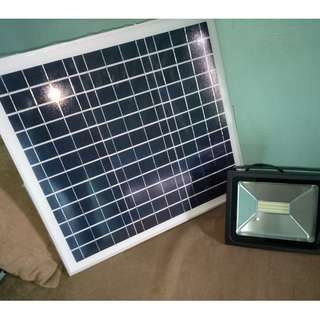 Solar Timer Flood Light 30W