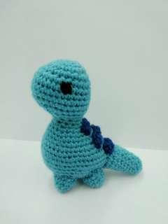 Handmade Crochet Toy Dinosaur
