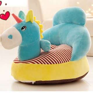 Kids/Baby Sofa (Unicorn Blue/Pink)