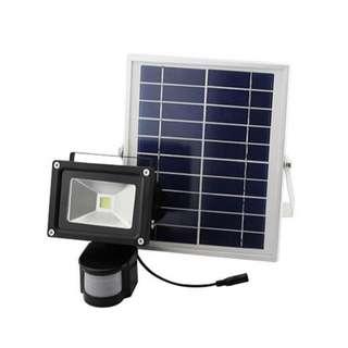 PowerStar Solar PIR Security Floodlight 50W