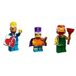 LEGO 71009 Minifigs The Simpsons™ Series 2 (3隻人仔)