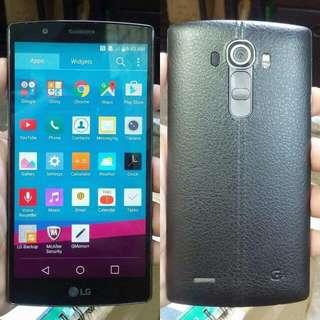 LG G4 HexaCore 32gb 3gb Ram F500 LTE Black Leather Openline