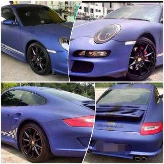 Porsche carrera jt