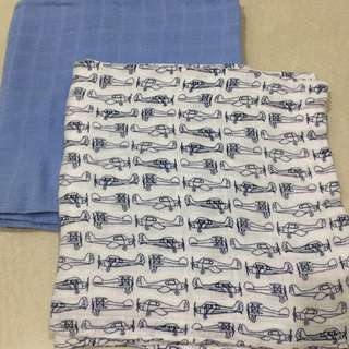 Hudson Baby Swaddle 2PCS FOR RM25