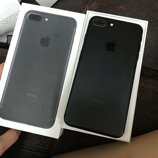 iPhone 7plus matte black 128GB original 港行Hong Kong version  Full set with box,全套有盒 99%new no issues no scratches