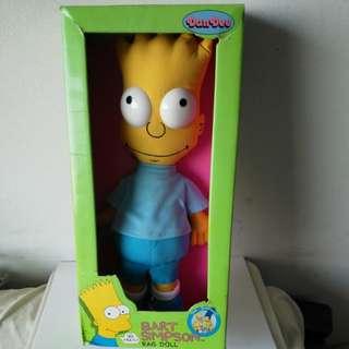 Bart Simpson rag doll