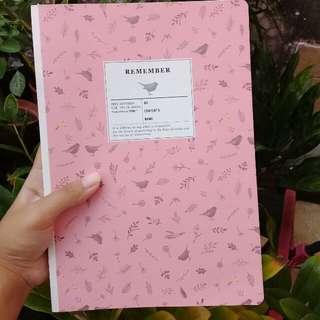 (FREE ONGKIR + LOOSE LEAF) Blank Journal Book