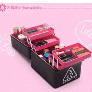 3CE 6 layer MEGA Cosmetic Box