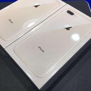 全新I Phone 8 Plus 金色256gb$7650 64gb$6600