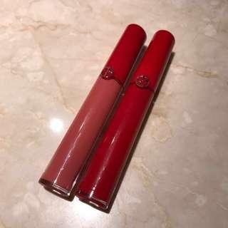 Giorgio Armani 奢華絲絨訂製唇萃#400 #500